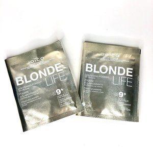 NWOT Joico Blonde Life LIghtener 2 Pack